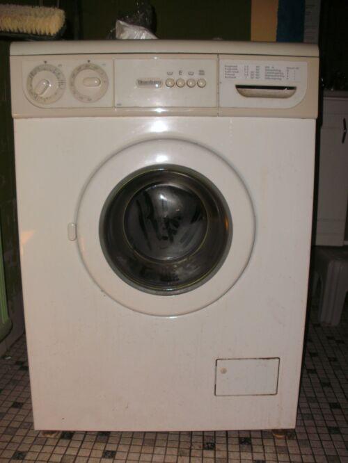 stabilisering af vaskemaskine